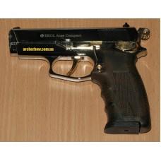 Пистолет стартовый EKOL ARAS (хром с позолотой)